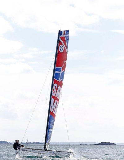 Skipper Luke Berry et Maxime Sorel par Pierrick Contin
