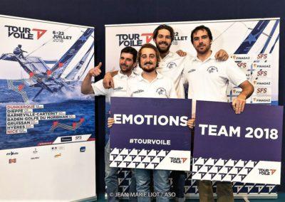 Team SNBSM Tour Voile 2018