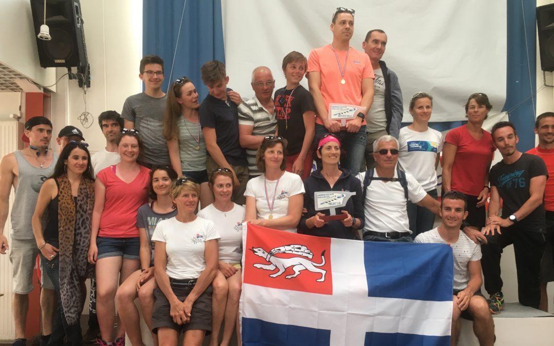 La SNBSM AVIRON remporte le championnat Grand-Ouest 2018