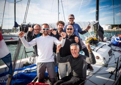 L'équipage de Dream Pearls 2017 ©ELWJ Yacht Photography