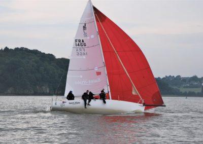Le Vainqueur en J80 - St Malo 2