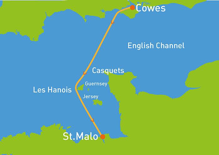 Cowes – Dinard – Baie de Saint-Malo Race