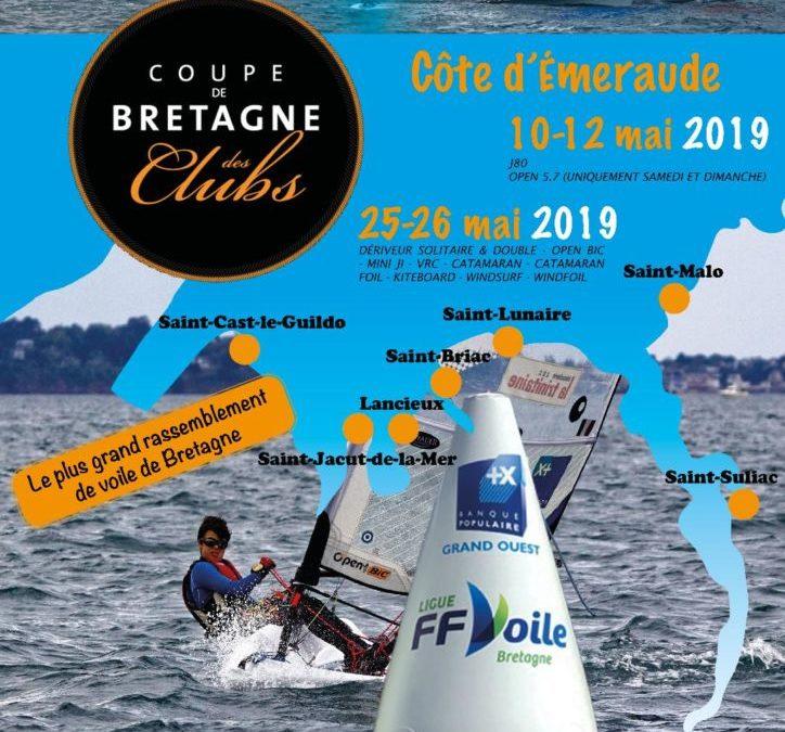 coupe de Bretagne des Clubs – Voile légère