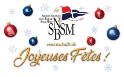 La SNBSM vous souhaite de joyeuses fêtes!