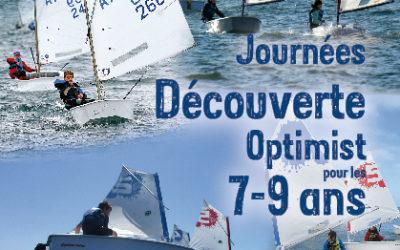Journées découverte Optimist pour les 7-9 ans