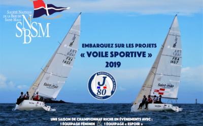 Présentation du Projet Sportif J80 – 2019 de la SNBSM