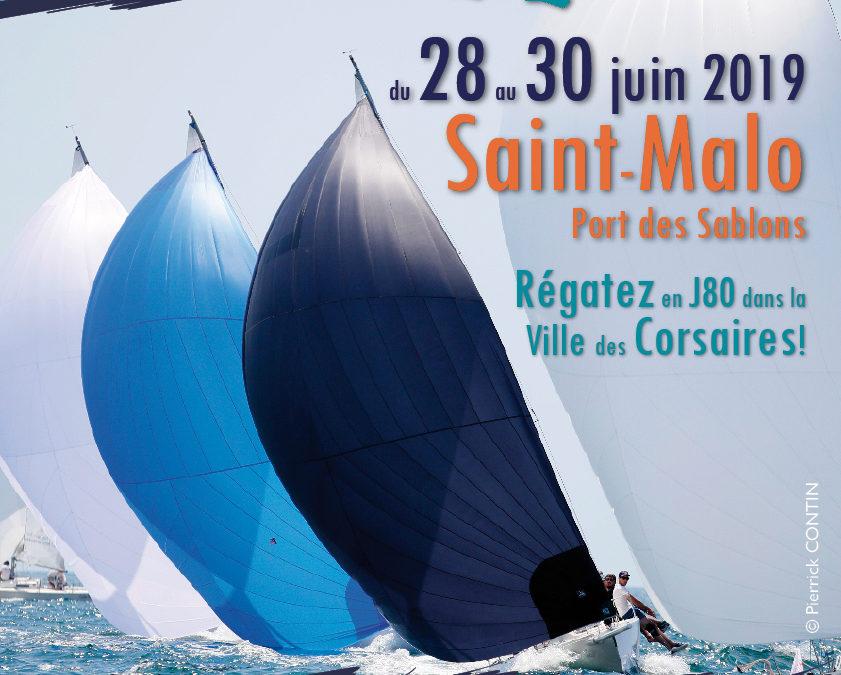 Corsaire J-Cup – Etape de la Coupe de France J80 à Saint-Malo