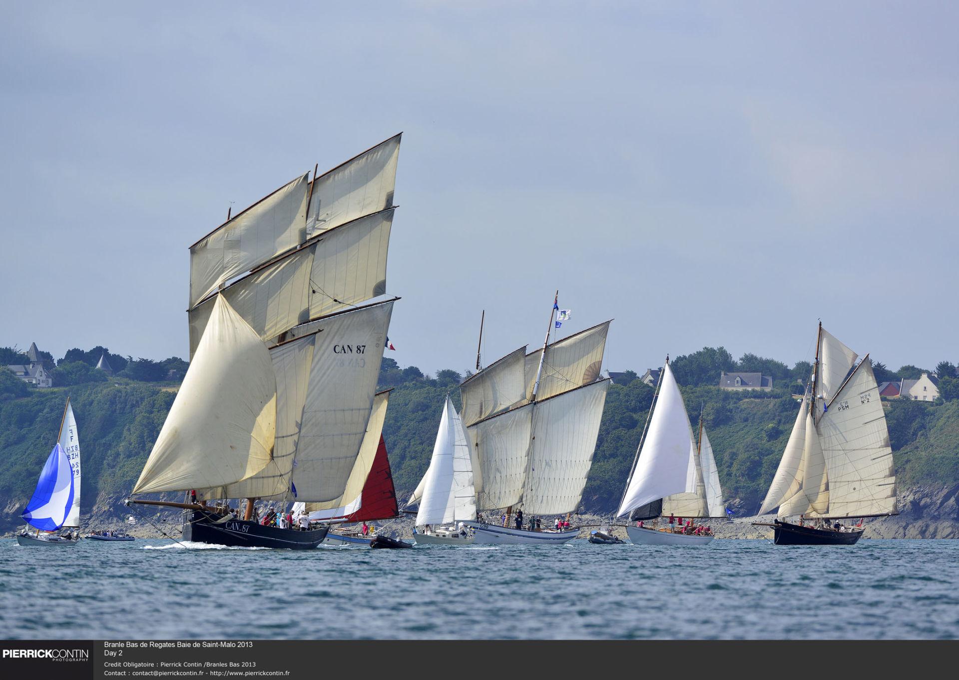 Branle Bas de Regates Baie de Saint-Malo 2013