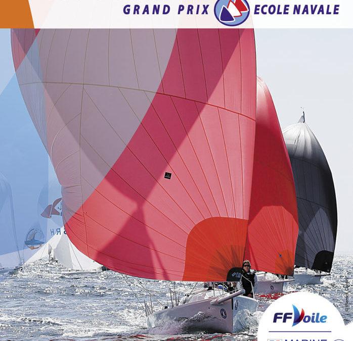 Les J80 au Grand Prix de L'école Navale