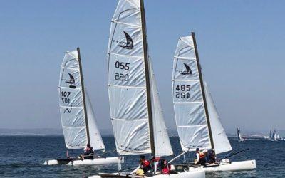 Championnats de France Minimes Voile légère