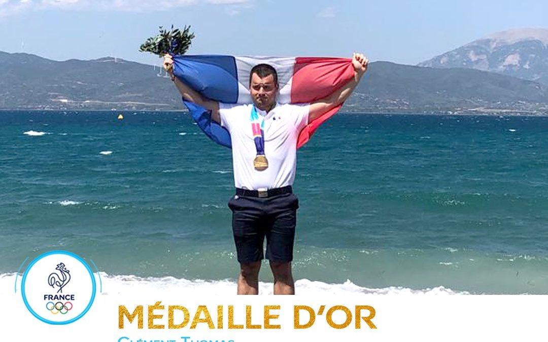 De l'Or et du Bronze pour Clément THOMAS en Aviron!