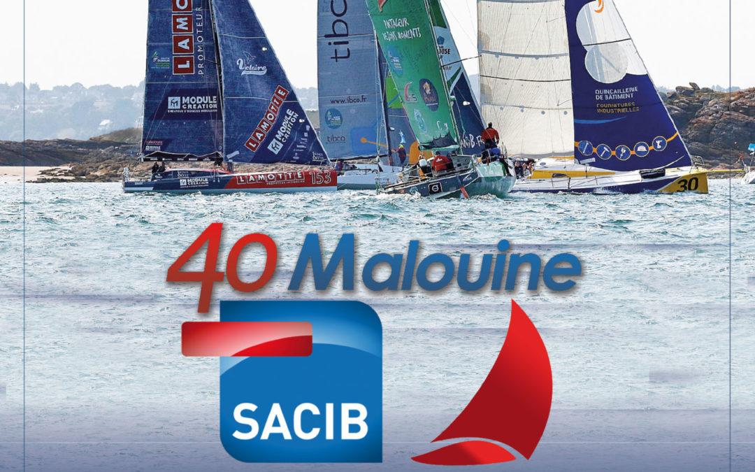 La 40 Malouine SACIB, une nouvelle régate dédiée aux Class 40 à Saint-Malo!