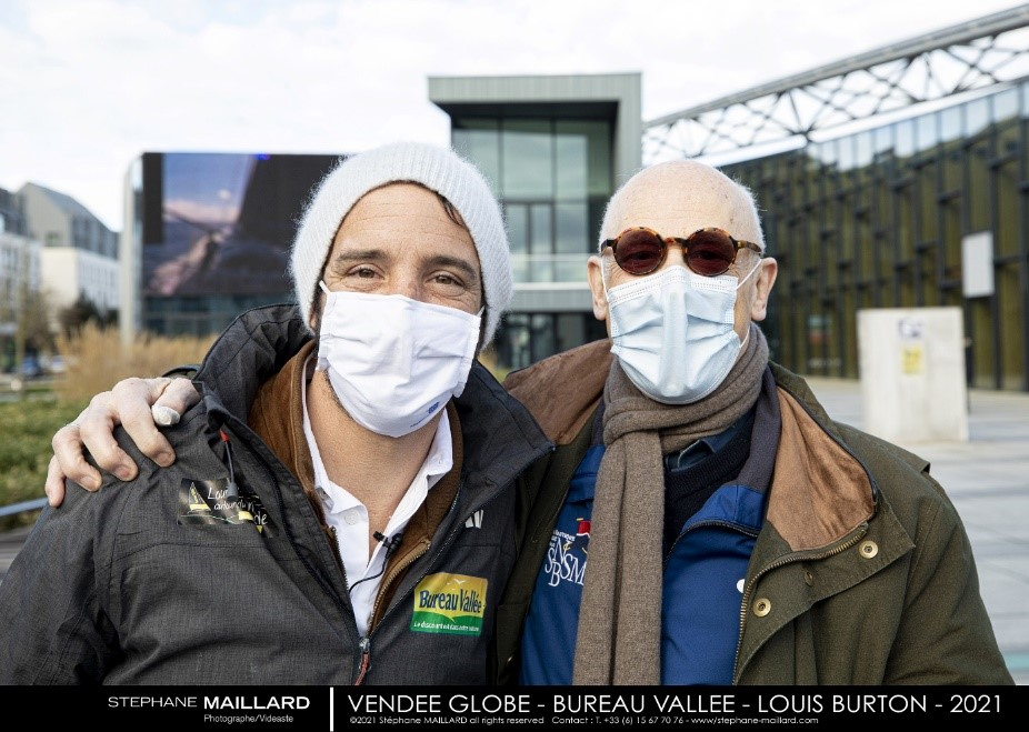 Vendée Globe : Grand bravo à Louis Burton !